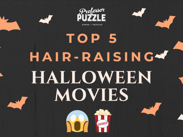 Our top 5 hair-raising Halloween movies (and some games to complement them!)
